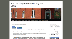 Preview of belmontfreelibrary.org